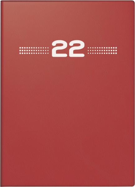 Taschenkalender Perfect 1W/2S rot