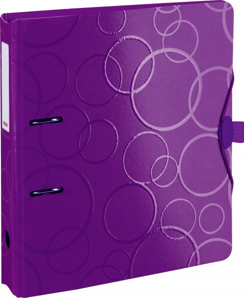 Ordner PP 5cm purple