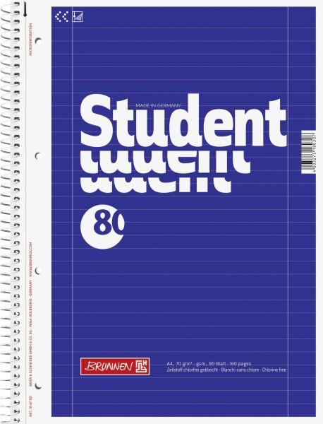 Collegeblock A4 Liniatur 27, 80 Blatt, liniert