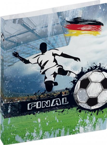 Ringbuch A4 2Rg 16mm Fußball