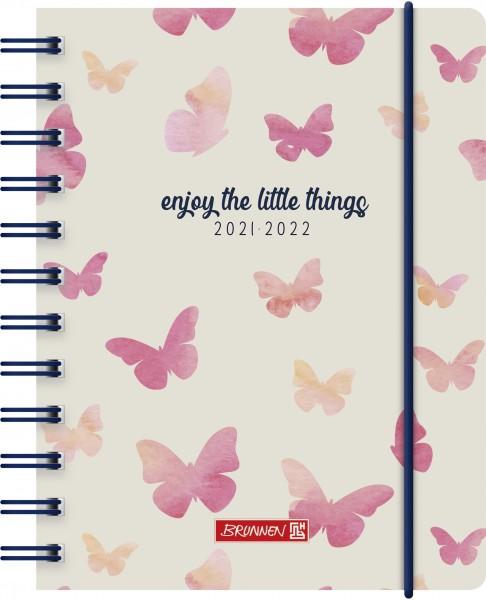 Tageskalender, Schülerkalender, A6 PP 1S/1T Butterfly