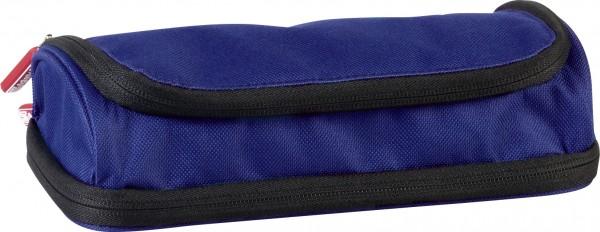 Combi-Etui Duo oval blau