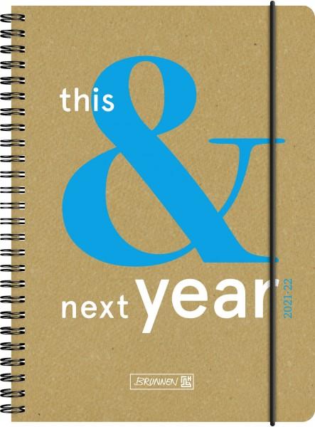 Wochenkalender, Schülerkalender, A5 RL 2S/1W This&Next