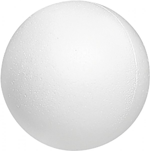 Styropor-Kugel Ø 10 cm weiß