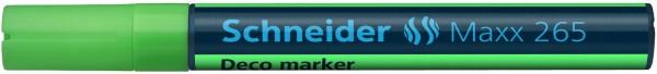 Windowmarker, Kreidemarker, Decomarker Maxx 265, 2-3 mm, hellgrün
