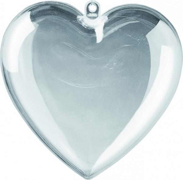 Herz Acryl teilbar 6cm