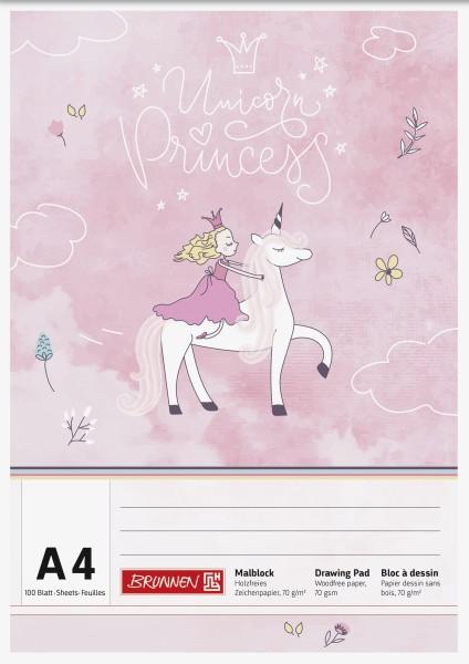 Malblock A4 100 Blatt Princess