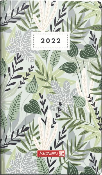 Taschenkalender 9x15 2S/1W Flowers
