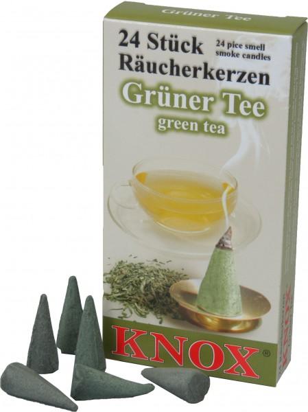 KNOX Räucherkerzen Grüner Tee