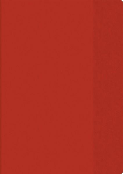 Hefthülle A5 transparent rot Folie