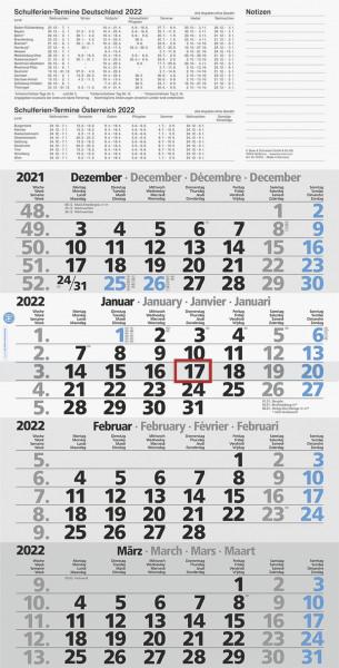 Viermonatskalender 30x59cm UWS