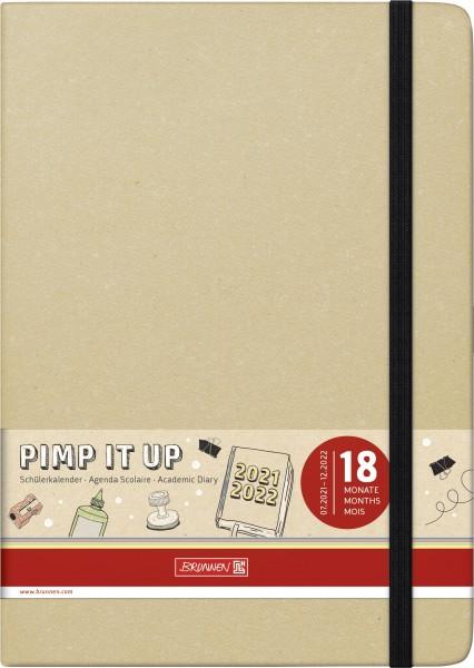 Wochenkalender, Schülerkalender, A5 2S/1W Pimp it up!
