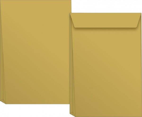 Versandtasche, B4, selbstklebung, braun, Natron, 130 g/qm, 5 Stück