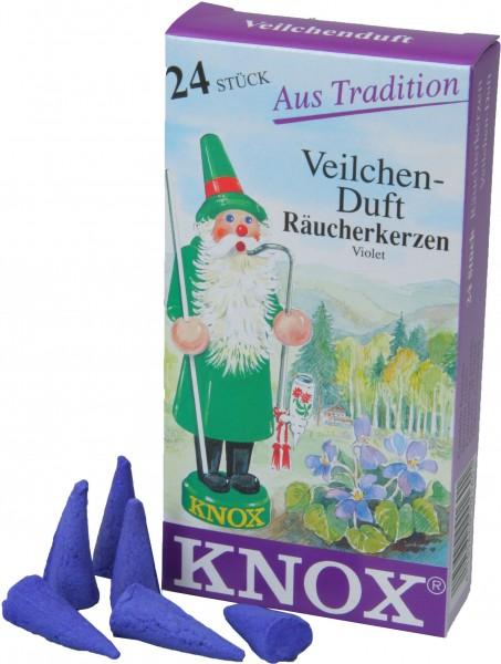 KNOX Räucherkerzen Veilchen