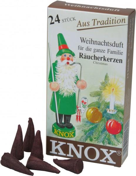 KNOX Räucherkerzen Weihnachtsduft
