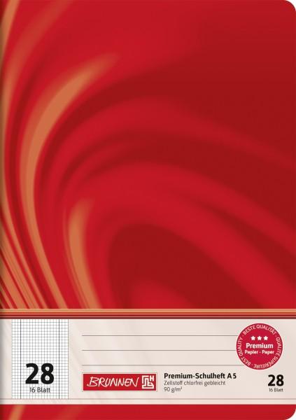 Schulheft Vivendi A5, Liniatur 28, 16 Blatt