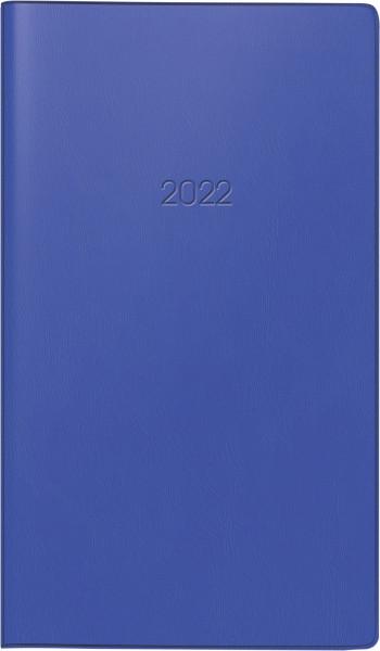 Taschenkalender 9x15cm d.bl 1S/1W