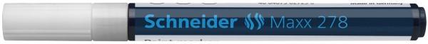 Lackmarker Maxx 278, 0,8 mm, weiß