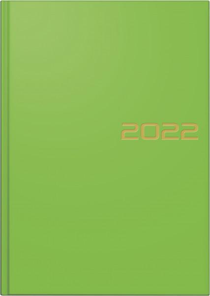 Buchkalender A5 grün