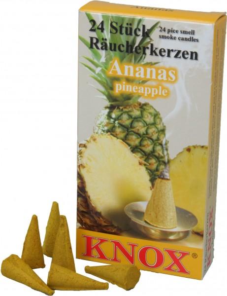 KNOX Räucherkerzen Ananas