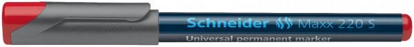 Universalmarker permanent Maxx 220 S, 0,4 mm, rot