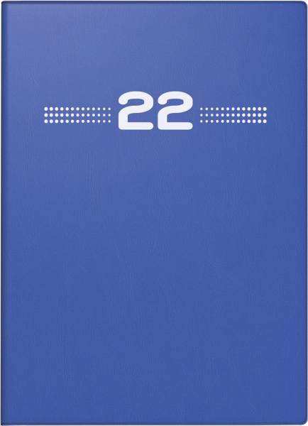Taschenkalender Perfect 1W/2S blau