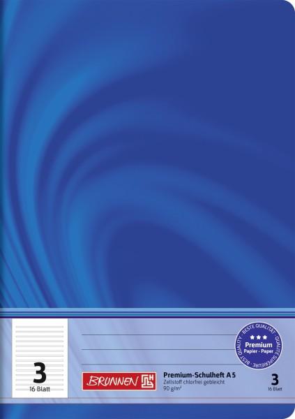 Schulheft Vivendi A5, Liniatur 3, 16 Blatt