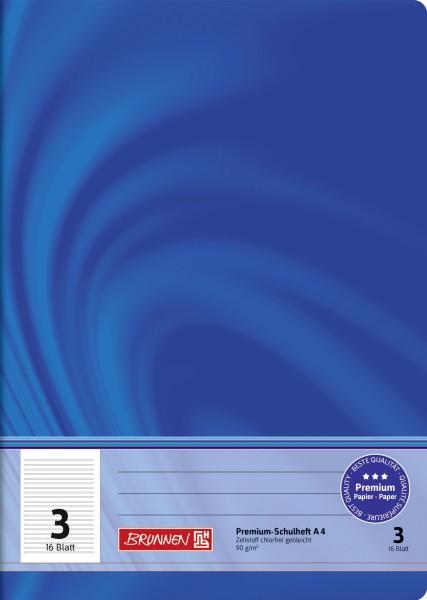 Schulheft Vivendi A4, Liniatur 3, 16 Blatt