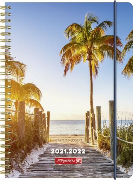 Wochenkalender, Schülerkalender, A5 PP 2S/1W Palm Beach
