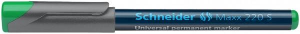 Universalmarker permanent Maxx 220 S, 0,4 mm, grün