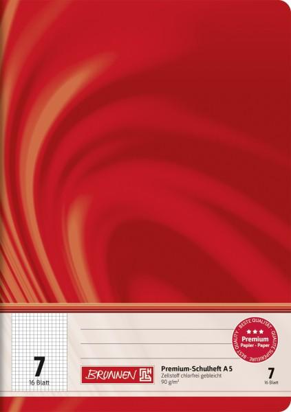 Schulheft Vivendi A5, Liniatur 7, 16 Blatt