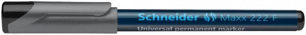 Universalmarker permanent Maxx 222 F, 0,7 mm, schwarz