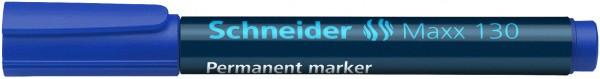 Permanentmarker Maxx 130, nachfüllbar, 1-3 mm, blau