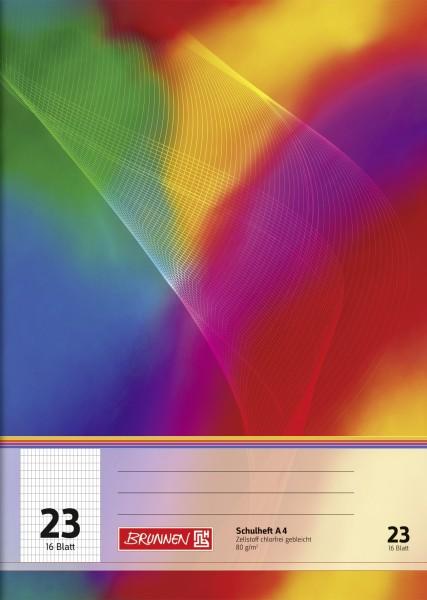 Schulheft A4, Liniatur 23, 16 Blatt