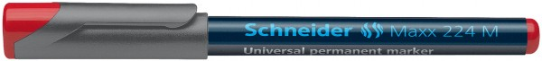 Universalmarker permanent Maxx 224 M, 1,0 mm, rot