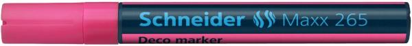 Windowmarker, Kreidemarker, Decomarker Maxx 265, 2-3 mm, rosa