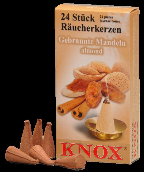 KNOX Räucherkerzen Gebrannte Mandeln