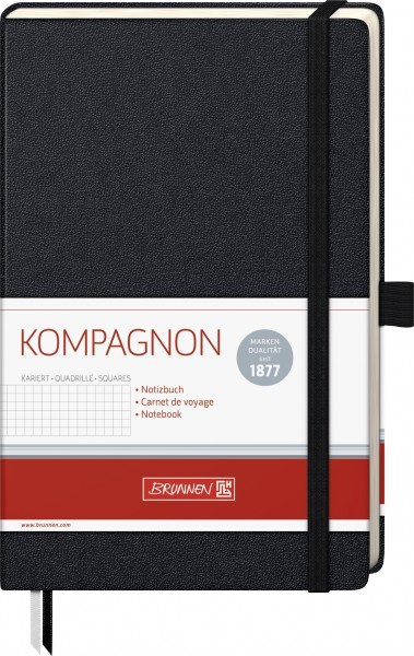 Notizbuch A5 kar Kompagnon