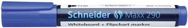 Board-Marker Maxx 290, nachfüllbar, 2-3 mm, blau